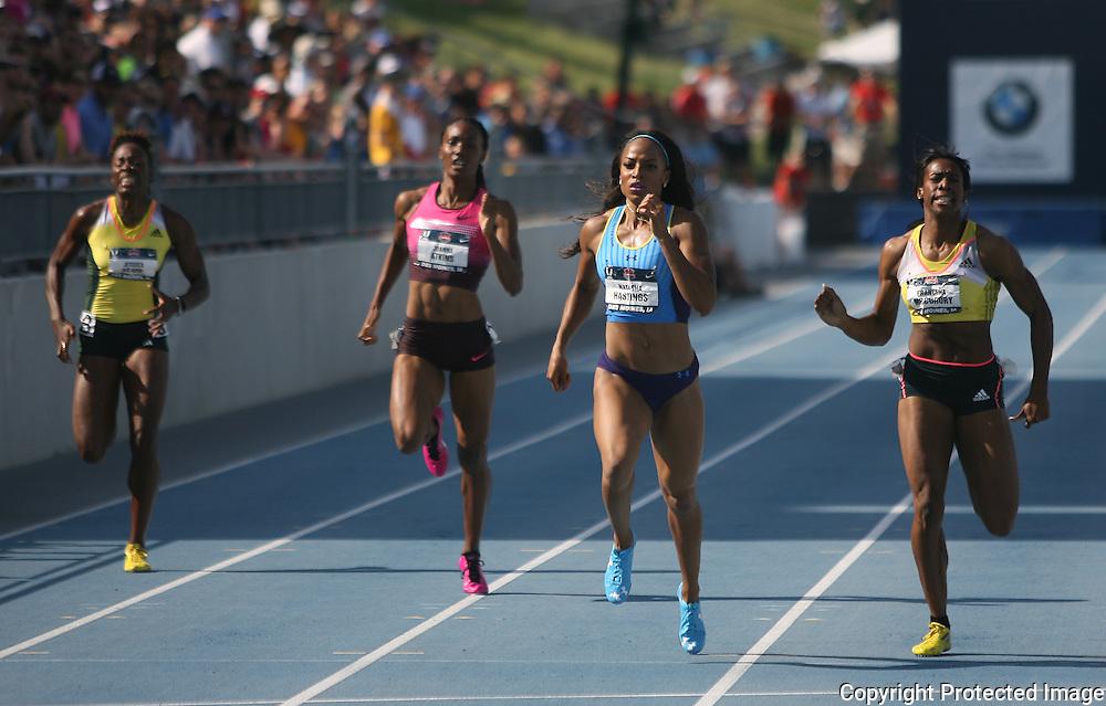 HASTINGS - 13USA, Des Moines, Ia. - Natasha Hastings won the 400.  Photo by David Peterson
