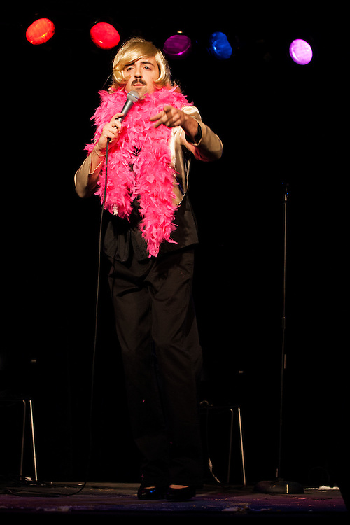 Matteo Lane as Joan Rivers - Schtick or Treat 2013 - Littlefield, Brooklyn - October 27, 2013