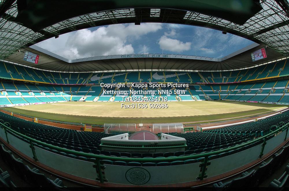 GLASGOW CELTIC FC,  CELTIC PARK Stadium, PARKHEAD, GLASGOW, Scotland Football Grounds, 2008