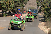 ATV Quad Bike Tour. Golan Heights, Israel
