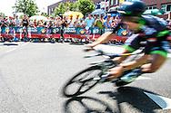 04-07-2015: Wielrennen: Grande Depart: Tour de France: Utrecht<br /> <br /> <br /> <br /> De 1e etappe van de Tour de France van 2015 was een individuele tijdrit van 13,8 kilometer. De start en finish zijn bij de Jaarbeurs in Utrecht