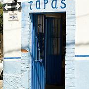 Restaurant door. Puerto Vallarta, Jalisco. Mexico.