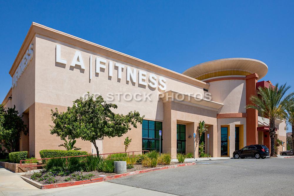 Riverside County LA Fitness Building in Lake Elsinore