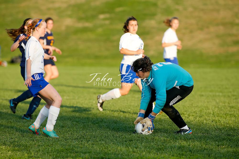 April/18/13:   MCHS Varsity Girls Soccer vs Rappahannock.  Madison defeats Rapp 1-0.  Madison goal by Katy Sorrell.