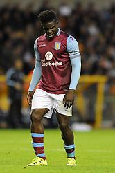 Micah Richards of Aston Villa - Mandatory by-line: Dougie Allward/JMP - 07966386802 - 28/07/2015 - SPORT - FOOTBALL - Wolverhampton,England - Molineux Stadium - Wolves v Aston Villa - Pre-Season Friendly