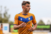 Otis Khan of Mansfield Town during the EFL Sky Bet League 2 match between Mansfield Town and Oldham Athletic at the One Call Stadium, Mansfield, England on 12 October 2019.