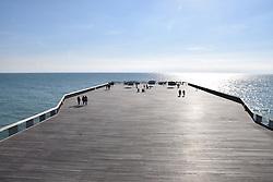 Hastings pier, East Sussex UK Oct 2016