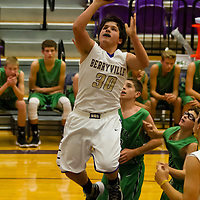 Berryville JH Boys Basketball vs Greenland 11-16-15