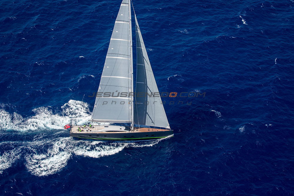 "Baltic Yacht  108 ""WINWIN"" , Photo shooting in Gran Canaria, Spain"