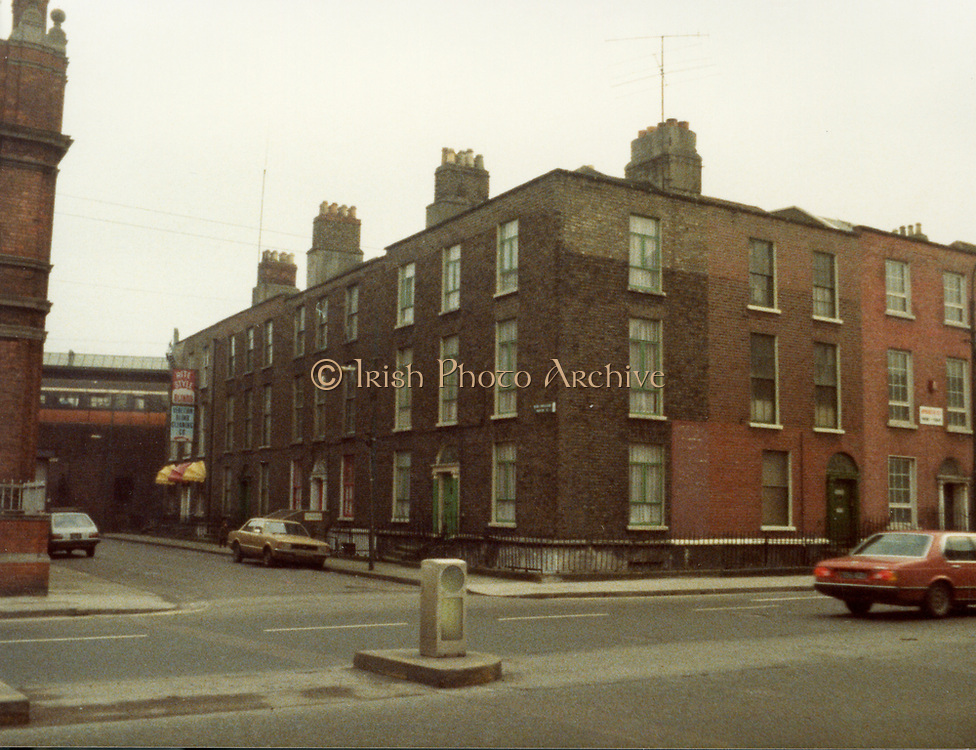 Old Dublin Amature Photos 1980s, Old Dublin Amature Photos March 1984 WITH, Amiens St, P&T Sorting Office, old house, 18 castle, avenue, Clontarf, protestant, church, bottom of Howth, rd, malahide rd, farmhouse, on hill, Old Dublin Amature Photos January 1983 WITH, <br />