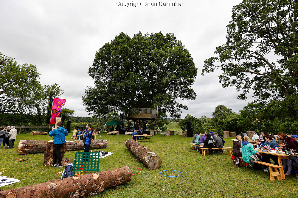 A General View of the Caulfield/Mulryan family reunion at Ardenode Stud, County Kildare, Ireland on Sunday, June 23rd 2013. (Photo by Brian Garfinkel)
