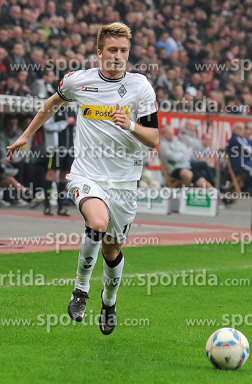 17.03.2012, Bay Arena, Leverkusen, GER, 1. FBL, Bayer 04 Leverkusen vs Borussia Moenchengladbach, 26. Spieltag, im Bild Marco Reus ( Borussia Moenchengladbach/ Freisteller ) // during the German 'Bundesliga' Match, 26th Round, between Bayer 04 Leverkusen and Borussia Moenchengladbach at the SGL Arena, Augsburg, Germany on 2012/03/17. EXPA Pictures © 2012, PhotoCredit: EXPA/ Eibner/ Thomas Thienel..***** ATTENTION - OUT OF GER *****