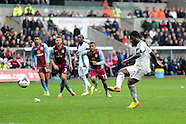 260414 Swansea city v Aston Villa