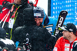 February 9, 2019 - Re, SWEDEN - 190209 Aksel Lund Svindal of Norway celebrates after competing in men's downhill during the FIS Alpine World Ski Championships on February 9, 2019 in re..Photo: Joel Marklund / BILDBYRN / kod JM / 87853 (Credit Image: © Joel Marklund/Bildbyran via ZUMA Press)