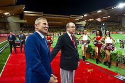 July 20, 2018 - Monaco - SAS le prince Albert II de Monaco - Sergey Bubka  (Credit Image: © Panoramic via ZUMA Press)