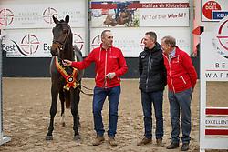006, Pegase van't Ruytershof<br /> BWP hengstenkeuring - Meerdonk 2018<br /> © Hippo Foto - Dirk Caremans<br /> 17/03/2018006, Pegase van't Ruytershof, De Winter Eric, Van den Branden Bert, Bauters Jozef, BEL<br /> BWP hengstenkeuring - Meerdonk 2018<br /> © Hippo Foto - Dirk Caremans<br /> 17/03/2018