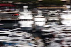 May 24, 2018 - Montecarlo, Monaco - 05 Sebastian Vettel from Germany with Scuderia Ferrari SF71H  in the middle of the boats  during the Monaco Formula One Grand Prix  at Monaco on 24th of May, 2018 in Montecarlo, Monaco. (Credit Image: © Xavier Bonilla/NurPhoto via ZUMA Press)