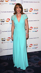 KAY BURLEY arrives for the Radio Academy Awards, London, United Kingdom. Monday, 12th May 2014. Picture by i-Images