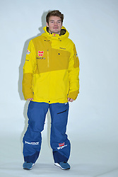 11.11.2014, MOC, München, GER, Snowboard Verband Deutschland, Einkleidung Winterkollektion 2014, im Bild Andreas Fischle // during the Outfitting of Snowboard Association Germany e.V. Winter Collection at the MOC in München, Germany on 2014/11/11. EXPA Pictures © 2014, PhotoCredit: EXPA/ Eibner-Pressefoto/ Buthmann<br /> <br /> *****ATTENTION - OUT of GER*****