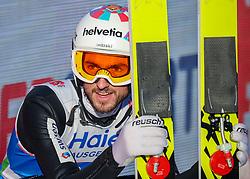 23.02.2019, Bergiselschanze, Innsbruck, AUT, FIS Weltmeisterschaften Ski Nordisch, Seefeld 2019, Skisprung, Herren, Wertungsdurchgang, im Bild Killian Peier (SUI) // Killian Peier of Switzerland during the men's Skijumping HS130 competition of FIS Nordic Ski World Championships 2019. Bergiselschanze in Innsbruck, Austria on 2019/02/23. EXPA Pictures © 2019, PhotoCredit: EXPA/ Dominik Angerer