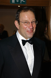 RICHARD DESMOND at The Caron Keating Foundation Dinner in honour of the late TV presenter who died in April 2004, held at The Savoy, London on 4th October 2004.<br />