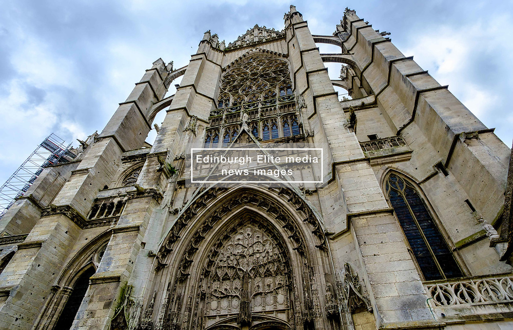 Facade of St Peter's Cathedral (La Cathédrale Saint-Pierre), Beauvais, France<br /> <br /> (c) Andrew Wilson | Edinburgh Elite media