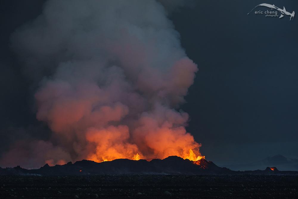 Holuhraun eruption, Bardarbunga volcanic system, Iceland.