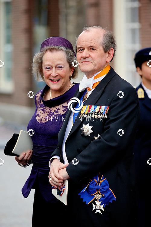 AMSTERDAM - De inhuldiging van Koning Willem Alexander. Met op de foto