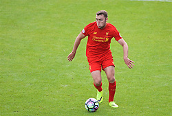 BIRKENHEAD, ENGLAND - Sunday, September 25, 2016: Liverpool's Connor Randall in action against Sunderland during the FA Premier League 2 Under-23 match at Prenton Park. (Pic by David Rawcliffe/Propaganda)
