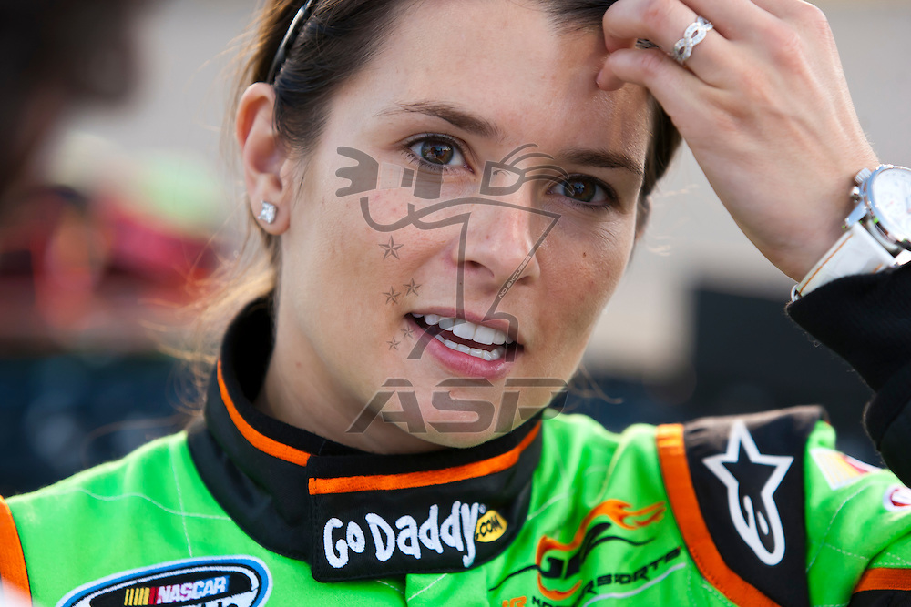 RICHMOND, VA  - SEP 09, 2011:  Danica Patrick prepares to take to the track for the Virginia 529 College Savings 250 at the Richmond International Raceway in Richmond, VA.