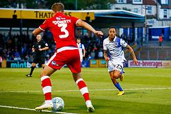 Kyle Bennett of Bristol Rovers marks Josh Doherty of Crawley Town  - Mandatory by-line: Ryan Hiscott/JMP - 14/08/2018 - FOOTBALL - Memorial Stadium - Bristol, England - Bristol Rovers v Crawley Town - Carabao Cup