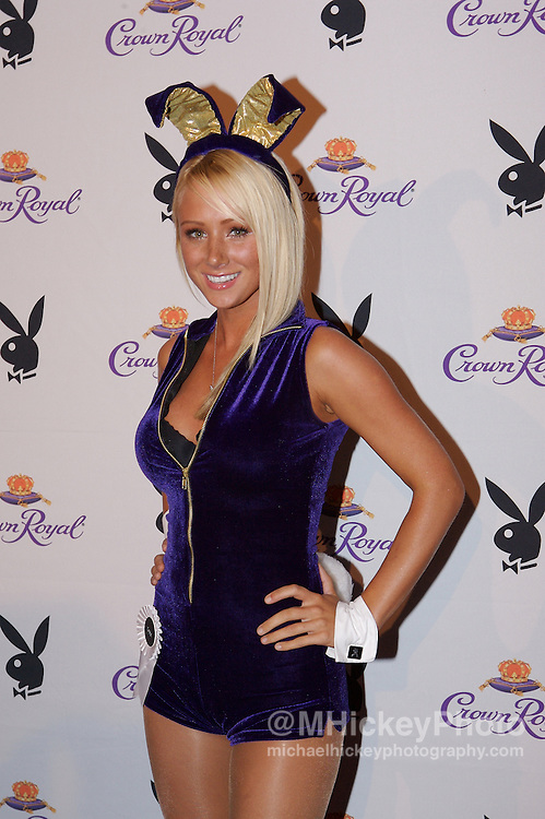 Playmate of the Year Sara Jean Underwood at the Kentucky Derby Crown Royal Playboy party in Louisville, Kentucky on May 4 , 2007. Photo by Michael Hickey