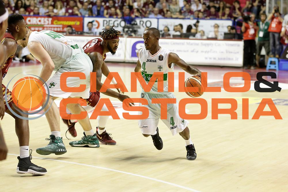 Marques Green<br /> Umana Reyer Venezia - Sidigas Scandone Avellino<br /> Lega Basket Serie A 2016/17 Semifinali Gara 01<br /> Venezia, 26/05/2017<br /> Foto Ciamillo-Castoria / M. Brondi