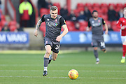 26 Harry Anderson runs towards goal for Lincoln City during the EFL Sky Bet League 2 match between Crewe Alexandra and Lincoln City at Alexandra Stadium, Crewe, England on 26 December 2018.