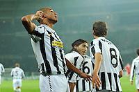 Joie David TREZEGUET - 08.12.2009 - Juventus / Bayern Munich - Champions League 2009/2010 - Photo : Aldo Liverani / Icon Sport