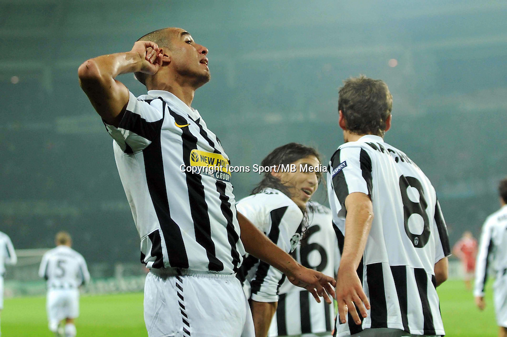 Joie David TREZEGUET - 08.12.2009 - Juventus / Bayern Munich - Champions League 2009/2010 - Photo : Aldo Liverani / Icon Sport