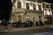 Launch of the Orange restaurant, 37 Pimlico Road, SW1W 8NE,  Thursday 29 October 2009