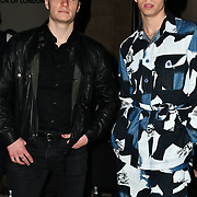 Max Mcgee and Jamie Hannah attend Indonesian Fashion Showcase - Jera at Fashion Scout London Fashion Week AW19 on 16 Feb 2019, at Freemasons' Hall, London, UK.