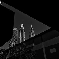Petronas Tpwers building in Kuala Lumpur, Malaysia.