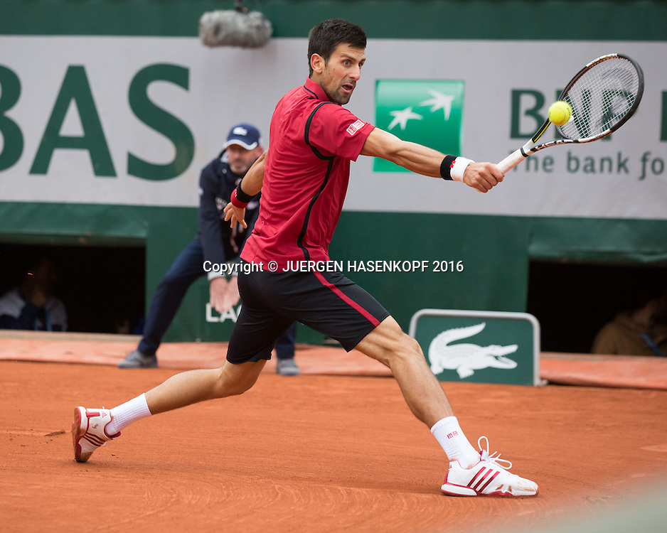 Novak Djokovic (SRB)<br /> <br /> Tennis - French Open 2016 - Grand Slam ITF / ATP / WTA -  Roland Garros - Paris -  - France  - 3 June 2016.