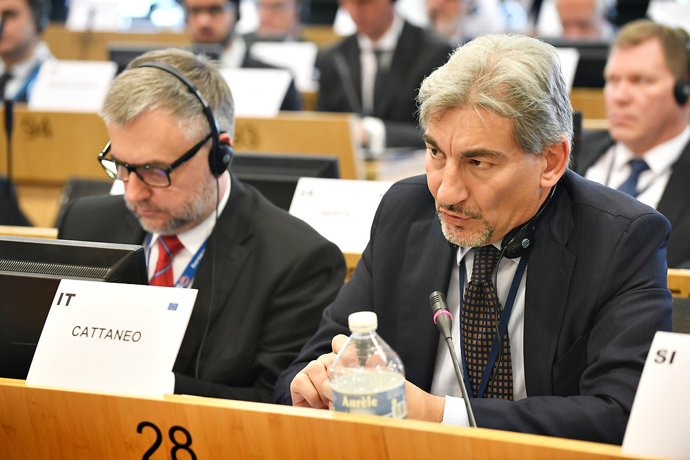 11 May 2017, EPP Group meeting<br /> Belgium - Brussels - May 2017 <br /> CATTANEO	Raffaele<br /> &copy; European Union / Photographer