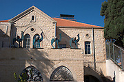 Israel, Haifa, Wadi Nisnas The church