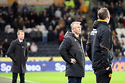 Hull City Manager Nigel Adkins  during the EFL Sky Bet Championship match between Hull City and Swansea City at the KCOM Stadium, Kingston upon Hull, England on 22 December 2018.