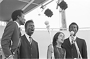Joan Baez and The Chamber Brothers, Newport Folk Festival 1965