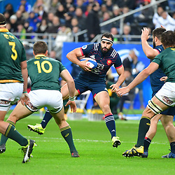 Geoffrey Doumayrou of France during the test match between France and South Africa at Stade de France on November 18, 2017 in Paris, France. (Photo by Dave Winter/Icon Sport)