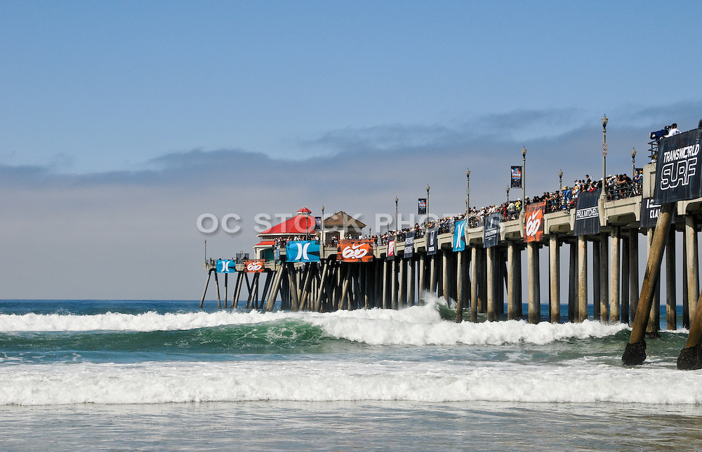 US Open Surfing Event at the Huntington Beach Pier
