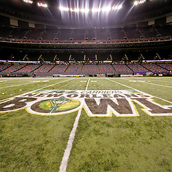 Dec 20, 2009; New Orleans, LA, USA; A general view of the Louisiana Superdome following the 2009 New Orleans Bowl at the Louisiana Superdome. Middle Tennessee State defeated Southern Miss 42-32. Mandatory Credit: Derick E. Hingle-US PRESSWIRE