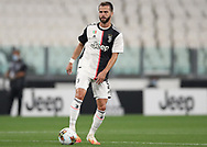 Juventus's Bosnian midfielder Miralem Pjanic during the Serie A match at Allianz Stadium, Turin. Picture date: 26th June 2020. Picture credit should read: Jonathan Moscrop/Sportimage