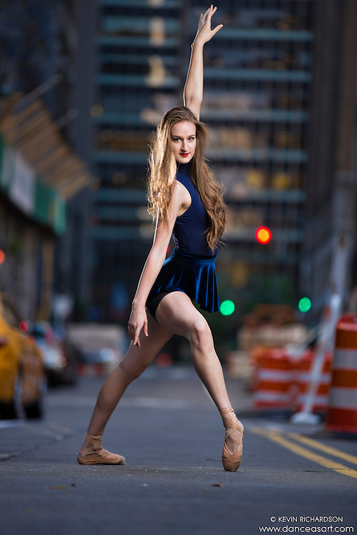 Dance As Art New York City Photography Project Midtown Manhattan with dancer, Rochelle Rankin.