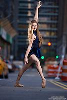 Dance As Art New York City Photography Project Midtown Manhattan with dancer, Rochelle Rankin.